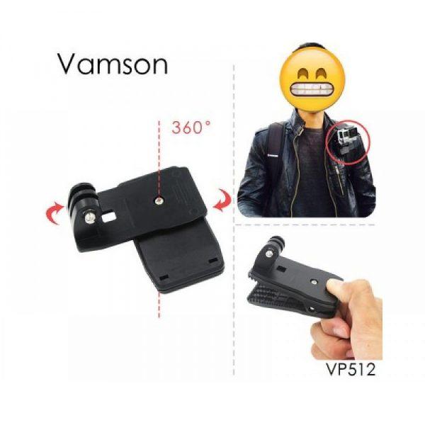 گیره نگهدارنده دوربین ورزشی