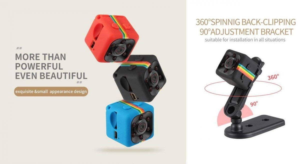 دوربین ورزشی کوچک مدل (SPORTS HD DV (SQ11