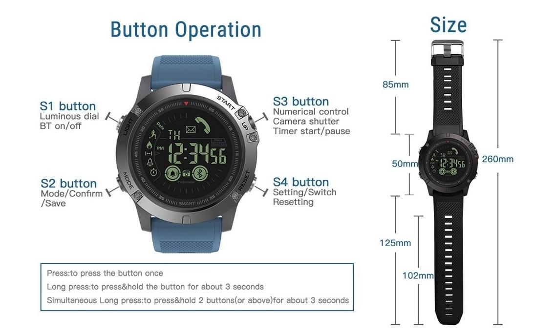 ساعت هوشمند زبلاز مدل Zeblaze Vibe 3 HR